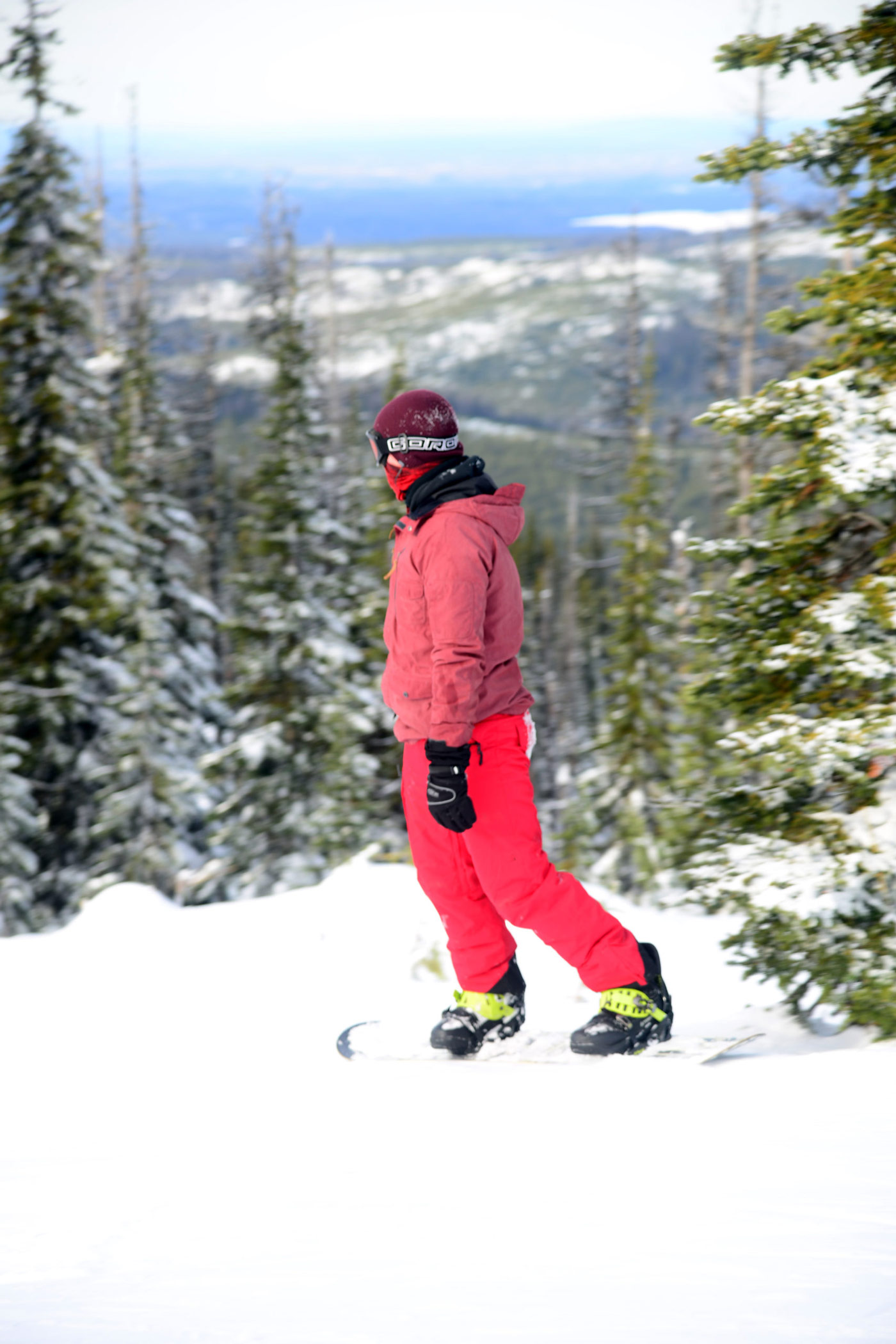 Snowboard at Mt Timothy